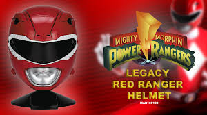 nerds legacy red ranger helmet