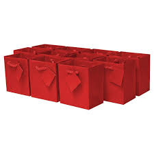 present bags small gift bags with rope handles 120 pcs 4 w x 4 5 h x 2 75
