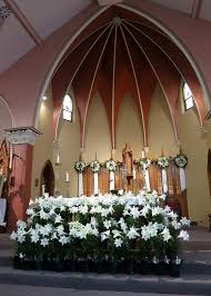 Easter Decorations For Church Sanctuary by File Church Of The Sacred Heart Coshocton Ohio Sanctuary With