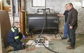 how to remove an old fuel tank this old house