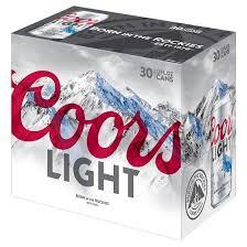 coors light 18 pack coors light 30 pack 12oz cans bridge liquors