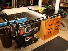 Sawstop Industrial Cabinet Saw Saw Stop Cabinet Under Extension Table By Bartee Lumberjocks