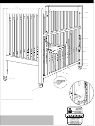 page 3 of child craft crib cch00701 09 00 user guide