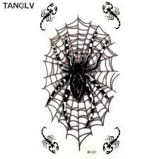 tattoo spider web elbow online get cheap 3d spider tattoos aliexpress com alibaba group