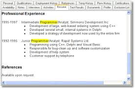 Help Doing A Resume Questek Systems Inc