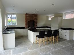 howdens kitchen granite worktop and jaipur limestone flooring