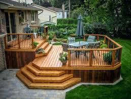 ground level deck u2013 simplir me