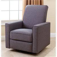 Glider Recliner Chair Abbyson Living Hampton Nursery Swivel Glider Recliner Chair In