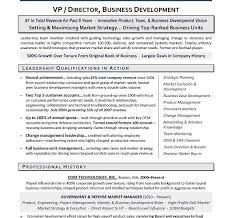 Sample Resume Business Development by Fresh Executive Resume Service 6 Vp Business Development Sample