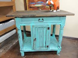 turquoise kitchen island turquoise rustic kitchen island rick s home store