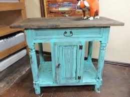 turquoise rustic kitchen island u2013 rick u0027s home store