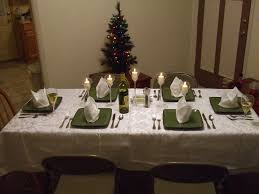 How To Set A Table For Dinner by Christmas Decorations Kitchen Table Ideas Simple And Beautiful