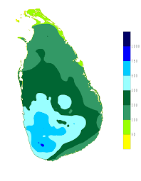 Map Of Monsoon Asia by Climate Of Sri Lanka