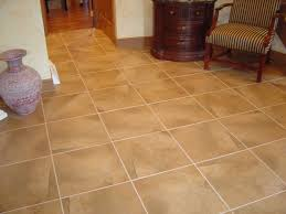 Groutable Vinyl Floor Tiles by Flooring Ceramic Tile Flooring Ideas Family Room Installation Of
