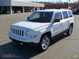 white jeep patriot 2011 jeep patriot latitude in bright white 103200 all american