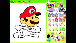 mario paint and color games online mario painting games mario