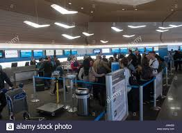 united airlines check in desks main terminal building interior