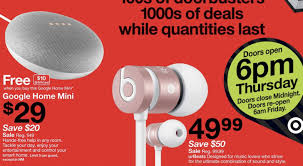 black friday target ad reveals 80 home 30 home mini with