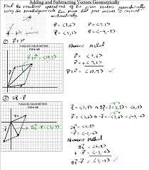 adding vectors parallelogram method resultant vectors mathgotserved