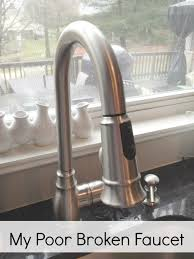 kitchen faucet leak repair kitchen how to fix moen faucet leaking hanincoc org