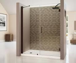 23 Inch Shower Door Dreamline Shdr 20537210c Unidoor 53 23 Inch Shower Door With 30