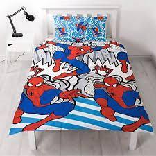 Spiderman Double Duvet Spiderman Bedding Sheets Ebay