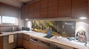 whirlpool interactive kitchen of the future youtube