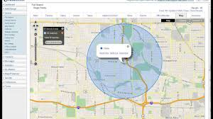 Circle Map How To Define A Circle Radius On A Map Youtube