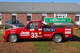 jeep pickup 90s bangshift com 1988 jeep comanche scca