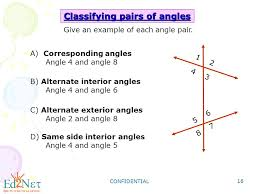 Example Of Alternate Interior Angles Geometry Lines And Angles Ppt Video Online Download
