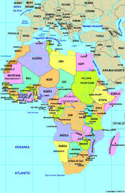 Angola Africa Map by Map Of Central Africa National Parks Map 4 12 East Africa