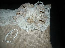 wedding pillows burlap kneeling wedding pillows set of two personalized groom