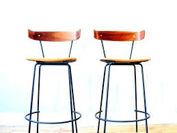 round stool cushions wood seat square pads with ties leather bar
