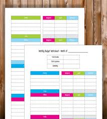 12 simple budget templates free sample example format