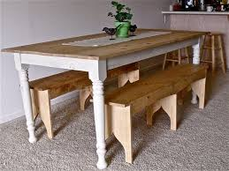 Ana White Farmhouse Table Bench Ana White Rustic Pine Table Diy Projects