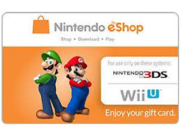 eshop gift cards nintendo eshop 10 gift cards email delivery newegg