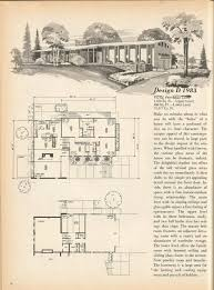 Mid Century Modern House Plan 206 Best House Plans Images On Pinterest Vintage Houses