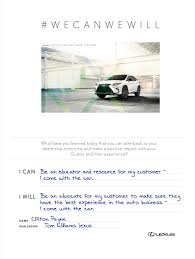 lexus performance tour experience committed to we can we will rx launch tour