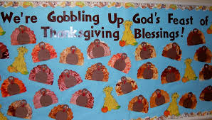gods feast thanksgiving bulletin board myclassroomideas
