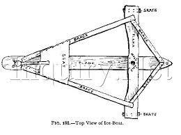 ice yacht plans free plans how to build an easy canoe bookcase