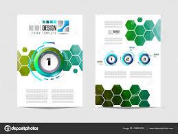 modelo de folheto flyer design u2014 vetores de stock davidarts