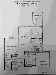 2 bedroom garage apartment plans