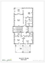 Italian Villa Floor Plans Bloom Gardens Villas Floor Plans Bloom Gardens Abu Dhabi