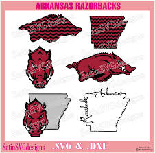Spray Tan Jonesboro Ar Arkansas Razorbacks Design Kit Files Use Your Silhouette Studio