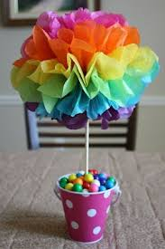 best 25 rainbow centerpiece ideas on pinterest candy