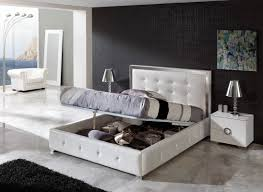 Contemporary Solid Wood Bedroom Furniture Modern Dark Wood Bedroom Furniture Vivo Furniture