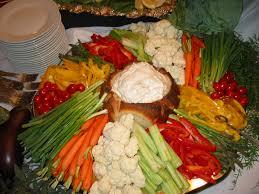 wedding platter wedding reception vegetable trays wedding reception vegetable