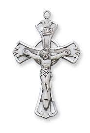 celtic crucifix sterling celtic crucifix 1 1 8in x3 4in
