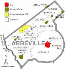 abbeville bureau county south carolina