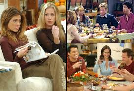 friends thanksgiving episodes brad pitt applegate